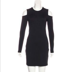 Parker   Like New! Black Cold Shoulder Mini Dress